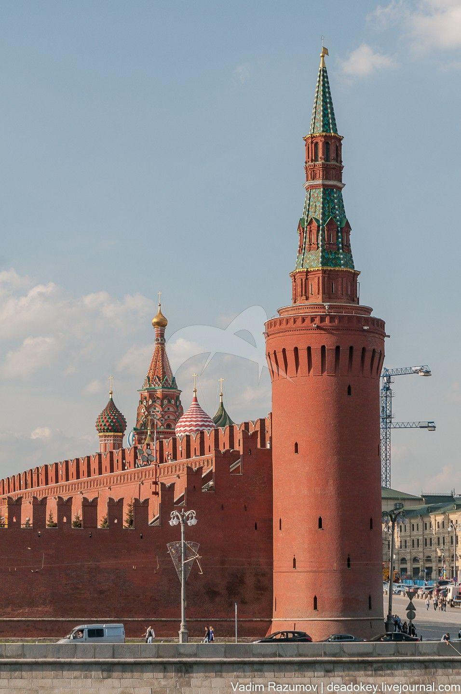 Как сделать кремль фото
